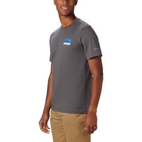 Columbia Rapid Ridge Back Graphic T-shirt Herrer, grå